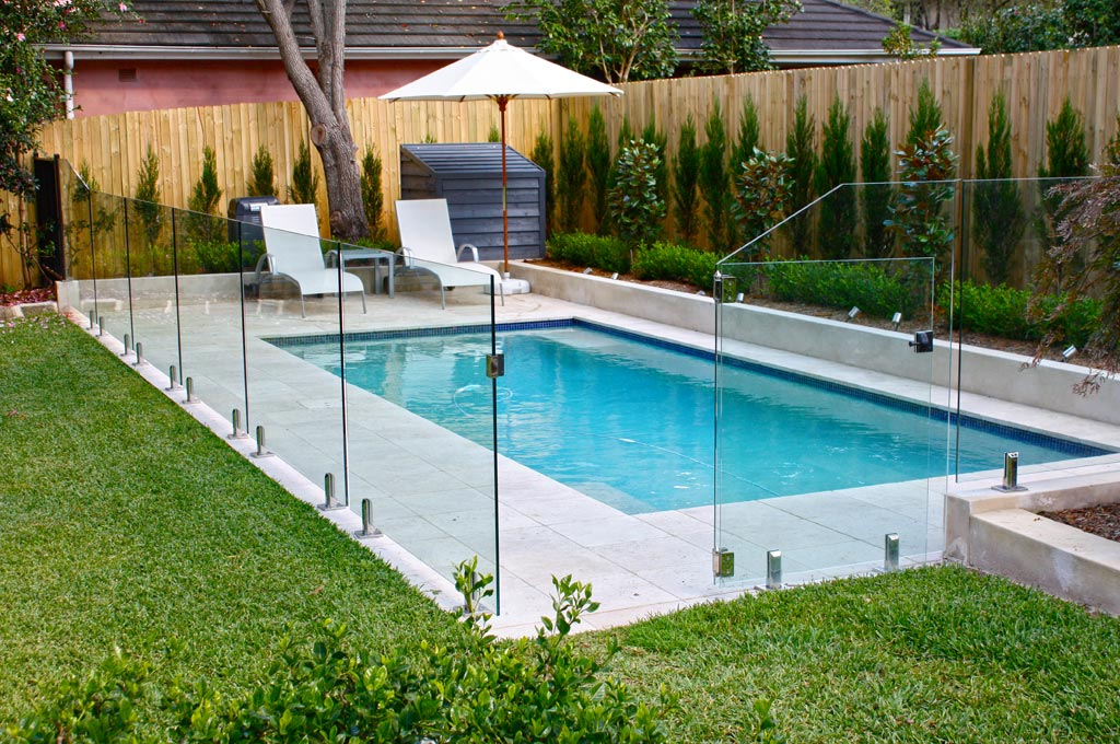 Fencing and gate perth fencing centre perth premium for Designer glass pool fencing