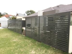 Fencing Infill-Powder Coated Slats-3
