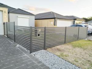Fencing Infill-Powder Coated Slats-5