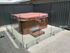 Frameless Glass Pool Fence-3