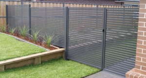 Gate With Side Panel-Powder Coated-10