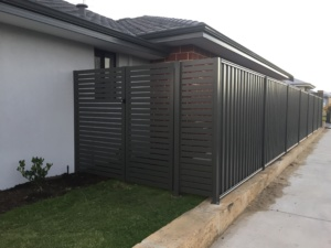 Gate With Side Panel-Powder Coated-13