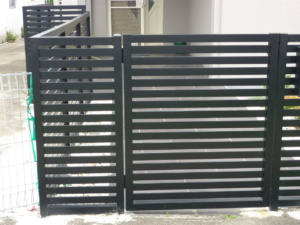 Gate With Side Panel-Powder Coated-2