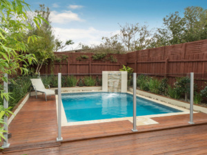 Semi Framless Glass Pool fence-2