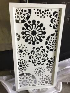 Welded frame single gate-Laser Cut Panel-12