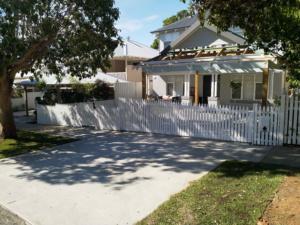 Picket Fence Aluminium