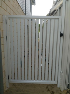 single gate Vertical Slats